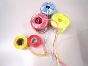 ひも三つ編み