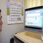 視線入力の意思伝達装置 マイトビーC15Eye