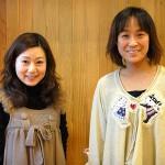 左:青木さん 右:野々垣さん