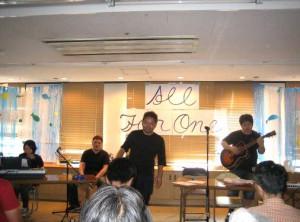 157号:リンクスメンタルクリニック 音楽バンド「All For One」