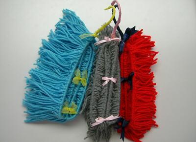 毛糸モップ