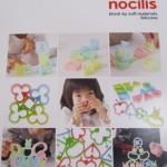 ひっくりかえすとカタチが変わる シリコーン知育玩具「nocilis」