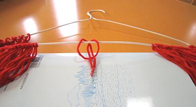 毛糸モップの工夫