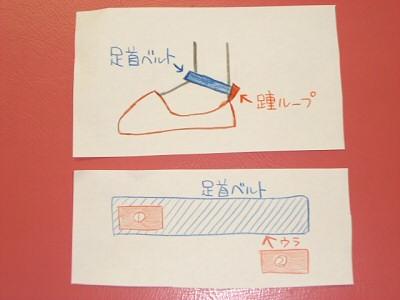 靴ベルト作り方